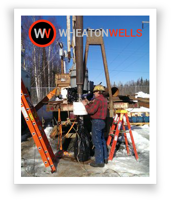 Wheaton Wells on-site water drilling